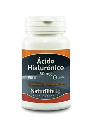 NaturBite Acido Hialuronico, 50 mg - 60 Cápsulas