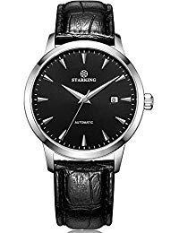 Starking AM0184SL22meccanico automatico orologio da uomo con cinturino in...