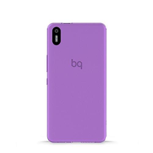 bq E000639 Aquaris X5 Gummy Schutzhülle für Smartphone violett