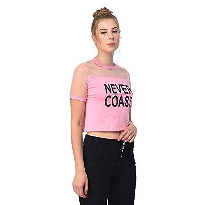 Raabta Women's Baby Pink Never Coast Top