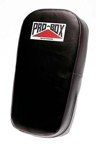 New Pro-box Thai Kick Pad Leather Grain Vinyl Aerofoam Padding High Density Pad