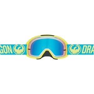 Dragon Mx Brille Mdx2 Break High Vis-Gelb Blau Ionized (One Size , Gelb)