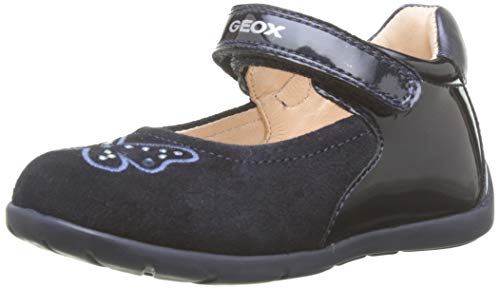 Geox B Kaytan B, Bailarinas Bebés, Azul Dk Navy C4021