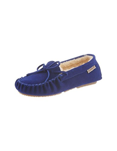 Bearpaw Ashlynn Cobalt Blue Multi Womens Slippers (10) (Bearpaw Hausschuhe)