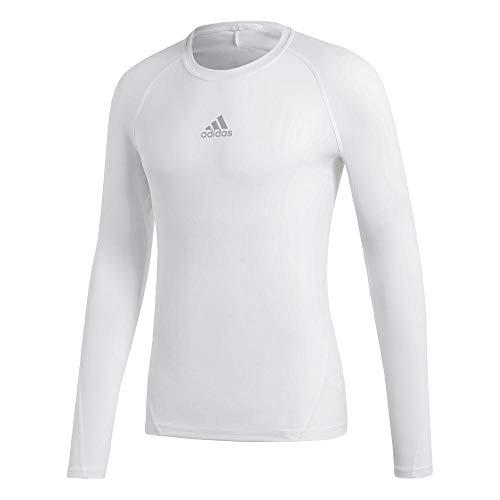 adidas Herren Ask SPRT LST M Long Sleeved T-Shirt, White, XS -