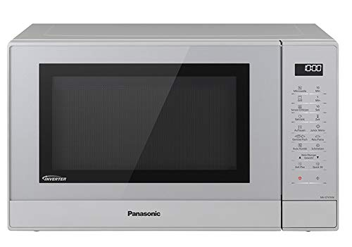 Panasonic NN-GT47KMGPG Kombi Mikrowelle (1000 Watt, mit Grill, 31 Liter) silber