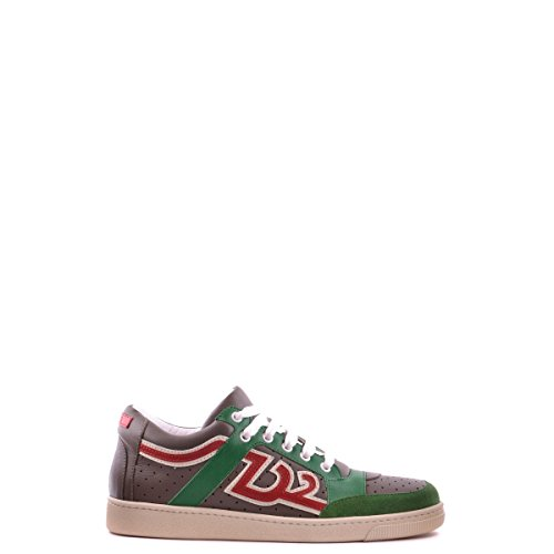 Dsquared2 Dsquared chaussures baskets sneakers homme en cuir vert Vert