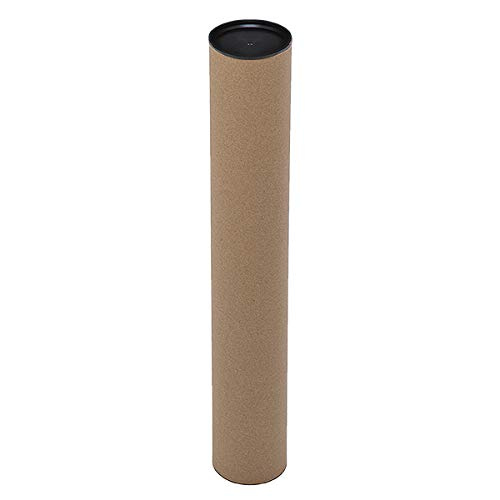 Propac z-tuk865Rohr-Versand aus Wellpappe, 8cm x 65cm, Stück 10