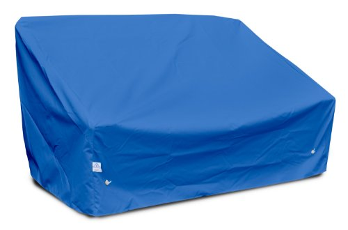 KoverRoos Weathermax 09550 tiefe hohe Loveseat/Sofa, 60 cm x 35 cm Ø 35 cm Höhe, Pacific Blue
