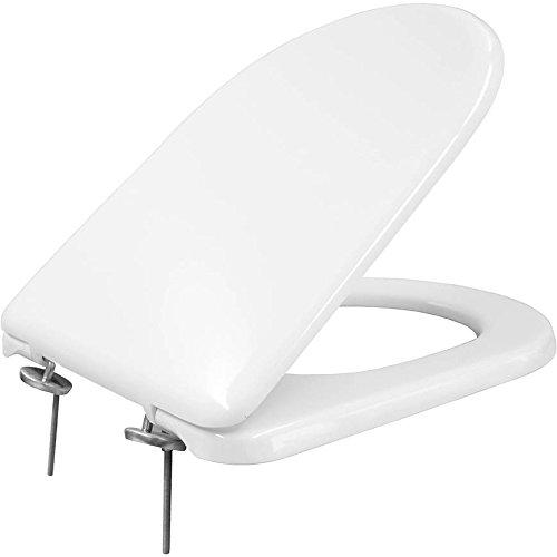 Bemis 100374000quadrarco gewidmet WC-Sitz, weiß