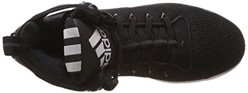 adidas D Rose 6 Boost, Chaussures de Basketball Homme Noir (Core Black/Core Black/Ftwr White)
