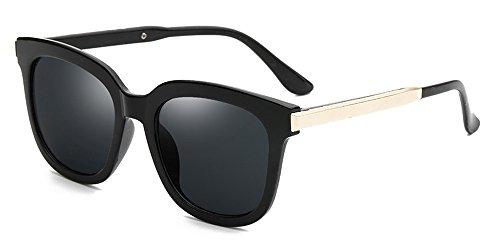Dintang Herren und Damenmode Retro Sonnenbrille Oval Sonnenbrille Verlaufsgläser Sonnenbrille mit...