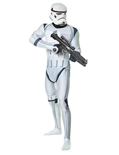 Kostüm Rüstung Stormtrooper - KULTFAKTOR GmbH Star Wars Stormtrooper Digital Morphsuit Lizenzware Weiss-schwarz L (bis zu 1,80 m)