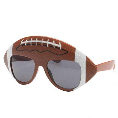 Kostüm Nfl Fußball - BESTOYARD Fußball Party Sonnenbrille Super Bowl Party Favors Lustige Rugby Brillen Foto Booth Requisiten