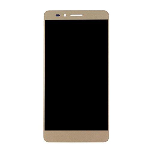 Bjhengxing Wander-Bildschirm for Huawei Honor 5X LCD-Bildschirm und Digitizer Total Assembly (schwarz) (Farbe : Gold)