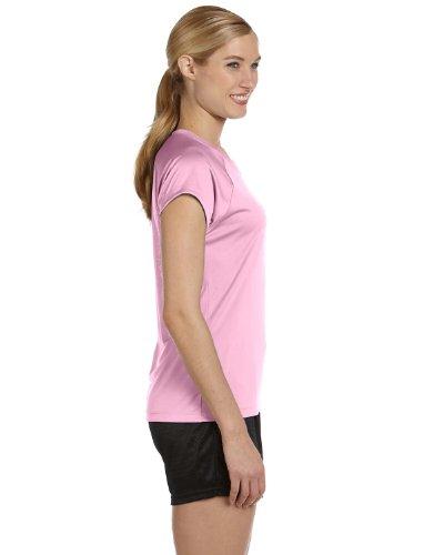Champion - T-shirt de sport - Manches Courtes - Femme - Cashmere Pink