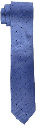 Calvin Klein Slim 6.4 Cm Cravatta Uomo Blu Taglia unica