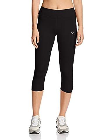 Puma Women's Training Essential 3/4 Tight - Black, Large/Size 14