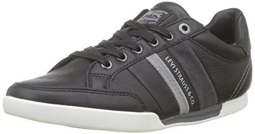 Levi's Turlock, Baskets Hommes, Noir (Shoes 59), 42 EU