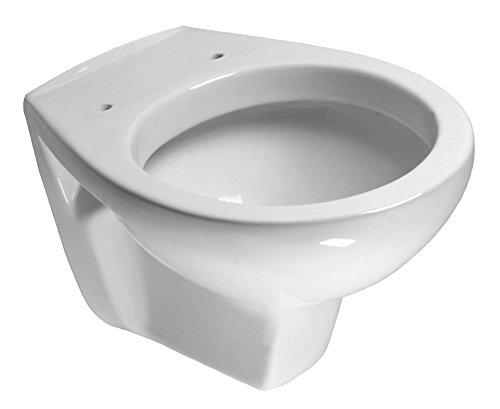 Cornat Tiefspül Wand-WC ALPHA weiß / Toilette / Hänge WC / Tiefspüler / Badezimmer / WWCABD100