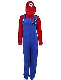 Traje Azul-Rojo Super Mario