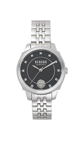 Versus by Versace Reloj Analogico para Mujer de Cuarzo con Correa en Acero Inoxidable VSP510518