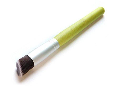 Cdet Kosmetik Pinsel Multifunctional Bambusgriff flacher Kopf / Schräg Beauty Pinsel Make-up Brush