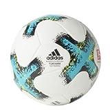 adidas Torfabriktrain Fußball Spielball, White/Eneblu/Black/SY, 5