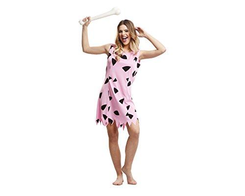 Imagen de my other me  disfraz de troglodita para mujer, m l, color rosa viving costumes 203518