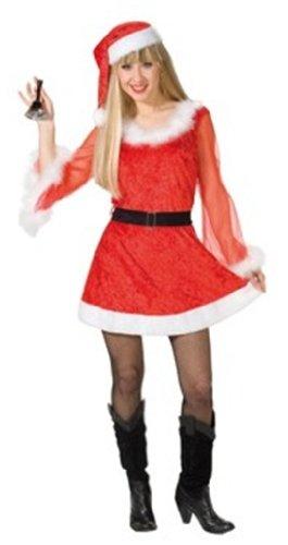 Rubies 1375140 - Sexy Weihnachtskleid Größe 40