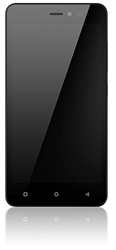 Gionee P5W (16GB, 5 Inches, WI-FI) Black, 1GB RAM Price in India