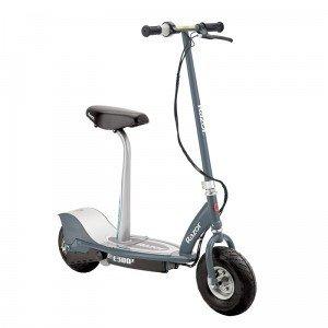 Razor E300s Scooter - Grey - Patinete con silla, color gris