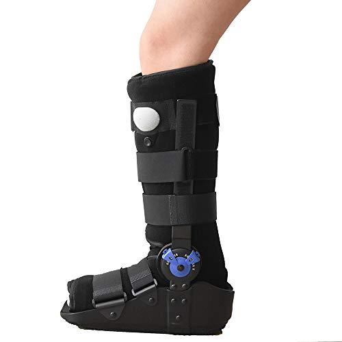 XIHAA Rebound Air Walker Boot, Einstellbare Aufblasbare Knöchel, Support Schuhe Schutz Für Fraktur Fibula Ligament Schaden, Schutz und Heilung Nach Fuß-Oder Knöchelverletzungen,L -