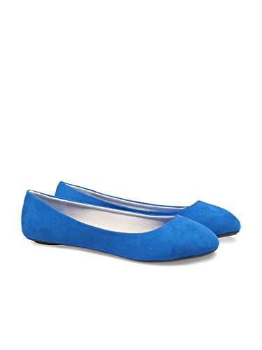 ONLY Damen Schuhe Ballarina True Blue Blau