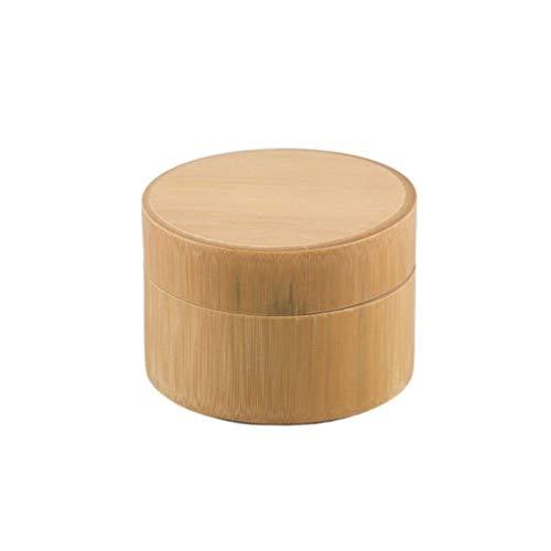 UPKOCH 1 Unid Bambú Matcha Recipiente Redondo Impermeable