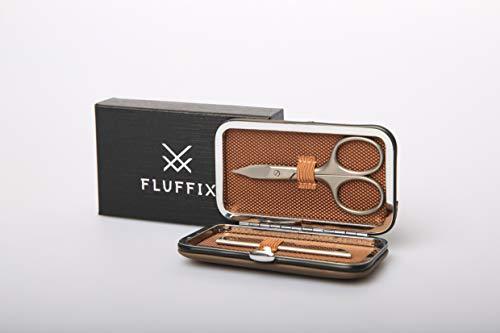 Premium Nagelschere -inklusive Aufbewahrungsbox und Nagelfeile- hochwertiges Maniküre Set aus Edelstahl - optimale Nagelpflege für Zuhause und unterwegs - auch Linkshänder geeignet