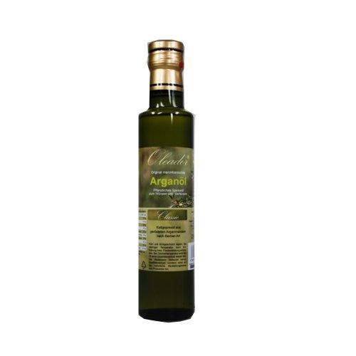 Arganöl classic 250 ml, geröstet nach Berberart, kaltgepresst hergestellt