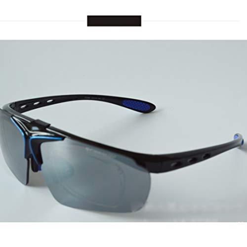 Retro Vintage Sonnenbrille, für Frauen und Männer Polarisierte Sonnenbrille zum Fahren Angeln Golf Metall Brille UV400 superleichten Rahmen (Farbe : 04)