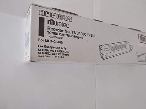 Toner MURATEC MFX-C3400 TS 3400C - Farbe: Cyan - DAUER: 10.000 Seiten A4 (EIN/ISO) - MURATEC SAP Code: 44059223 - MURATEC EAN: 4954318102146 - TONERPRO Produkt Code: ORIG-MFX-C3400-C-10K