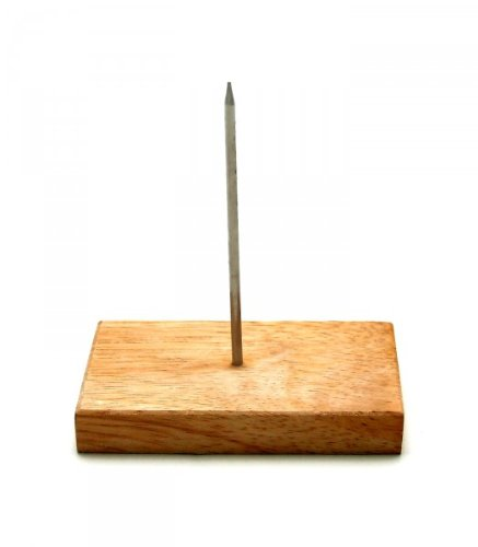 GRÄWE Bonspieß mit einem Dorn und Holzfuß