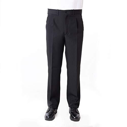 Pantalón Camarero Hombre Color Negro/Marino - Tallas