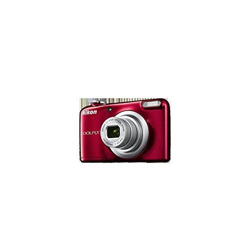 Nikon COOLPIX A10 16.1MP 1/2.3' CCD 4608 x 3456Pixeles Rojo - Cámara Digital (Fuegos Artificiales, Auto, Corriente alterna, Batería, Cámara compacta, 1/2.3', 4,6-23 mm)