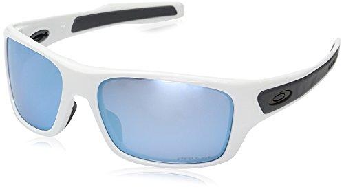 Oakley Herren Turbine Xs 900307 Sonnenbrille, Weiß (Blanco Brillo), 0
