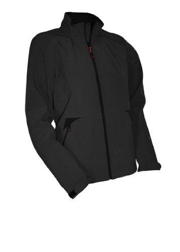 maier sports Veste softshell pour homme, 521704 Noir - noir
