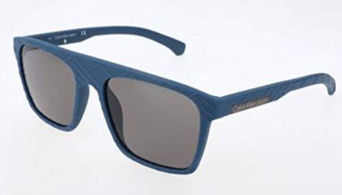 Calvin klein jeans sonnenbrille ckj798s 405-55-18-140 occhiali, blu, taglia unica uomo