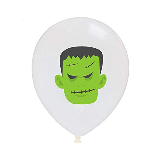 CTOBB 10pcs Halloween-Party-Ballon-Karikatur-Latex-Ballon Aufblasbare airballoon für Babyparty-Geburtstags-Party-Dekor-Kind-Bevorzugung, Farbe, B01