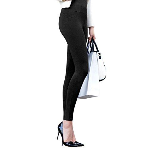 Janira - Leggings - para Mujer Negro M