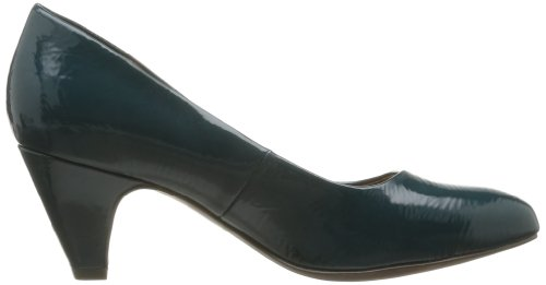 Tamaris Trend 1-1-22415-21 735 Damen Pumps Türkis (PETROL PATENT)