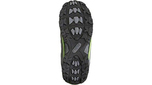 Trek - scarpa Ulajah Aqx Mid Jr grigio/nero rosso - Nero, 33 Nero