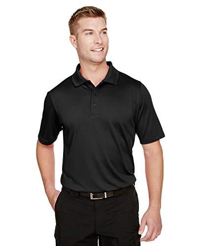Harriton Men's Advantage Snag Protection Plus Polo - BLACK - 2XL -